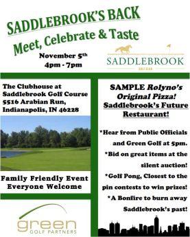 Saddlebrook's Back
